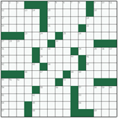 Free online American crossword №19: TRESTLE TABLE