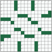 Free online American crossword №21: POWER BREAKFAST