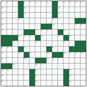 Free online American crossword №27: SYMPATHETIC