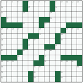 Free online American crossword №29: ARRANGEMENT