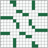 Free online American crossword №43: GIVE-AND-TAKE