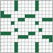Free online American crossword №51: PSYCHOANALYSIS