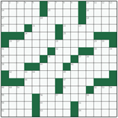 Free online American crossword №9: SENIOR CITIZEN