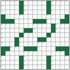 American crossword №90: CHINESE WALL