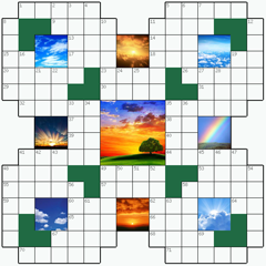 Crossword puzzle №10: SKY