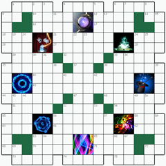 Crossword puzzle №13: MAGIC