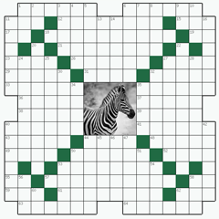 Crossword puzzle №15: ZEBRA