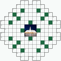 Crossword puzzle №20: FOUNTAIN