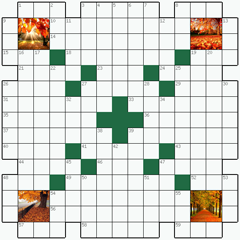 Crossword puzzle №21: AUTUMN