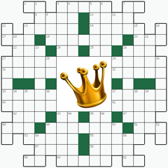 Crossword puzzle №22: CROWN