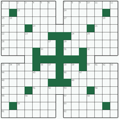 Crossword puzzle №25: TAVERNA