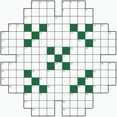 Crossword puzzle №26: BEATITUDE