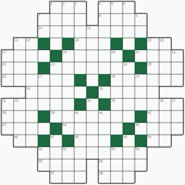 Free online Crossword puzzle №26: BEATITUDE