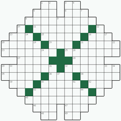 Crossword puzzle №27: DENSITIES