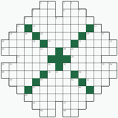 Free online Crossword puzzle №27: DENSITIES