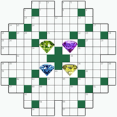 Free online Crossword puzzle №29: DIAMOND
