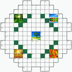 Crossword puzzle №3: NATURE