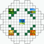 Free online Crossword puzzle №3: NATURE