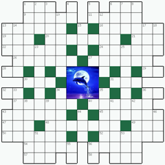 Crossword puzzle №31: MOONLIGHT