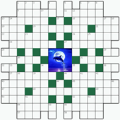 Free online Crossword puzzle №31: MOONLIGHT