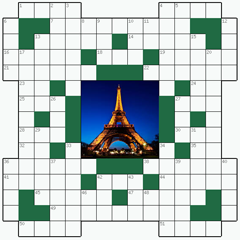 Crossword puzzle №4: PARIS