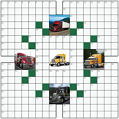 Free online Crossword puzzle №5: TRUCKS