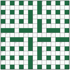 Cryptic crossword №4: MANTIS