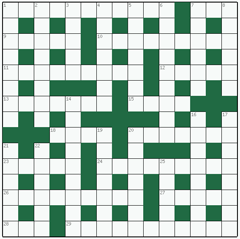 Cryptic crossword №41: BRANDENBURG