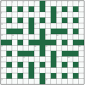 Free online Cryptic crossword №51: MASTERFUL