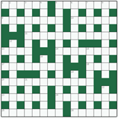 Free online Cryptic crossword №6: WATTLE