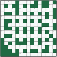 Freeform crossword №7: WEATHERPROOFING