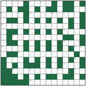 Free online Freeform crossword №7: WEATHERPROOFING