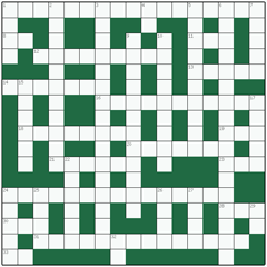 Freeform crossword №9: PSYCHOLINGUISTICS