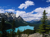 Free online Jigsaw puzzle N01: Mountain valley