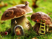 Free online Jigsaw puzzle N119: Fairytale house