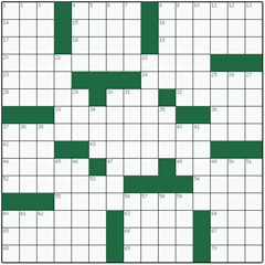 American crossword №14: BOUQUET GARNI