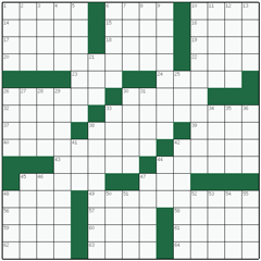 American crossword №32: MELANCHOLY