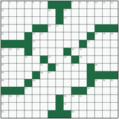 Free online American crossword №36: ASSIGN