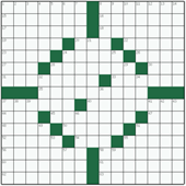 Free online American crossword №4: IMITATOR
