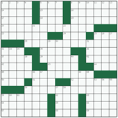 Free online American crossword №40: RED BLOOD CELL