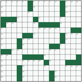 Free online American crossword №42: RUNNING MATE