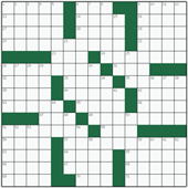 Free online American crossword №45: SACROSANCT