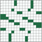 Free online American crossword №50: STREET FIGHTER