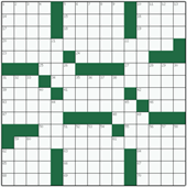 Free online American crossword №70: SELF-EMPLOYMENT