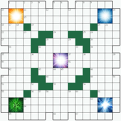 Free online Crossword puzzle №17: FLASH