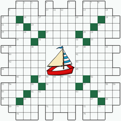 Crossword puzzle №23: BOAT