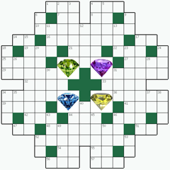Crossword puzzle №29: DIAMOND