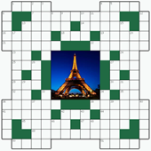 Free online Crossword puzzle №4: PARIS