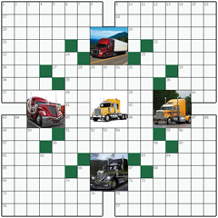 Crossword puzzle №5: TRUCKS