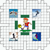 Free online Crossword puzzle №7: SPORT